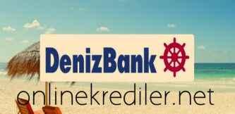 Denizbank Tarımsal İhtiyaçlar İçin Krediye SMS ile Başvurusu