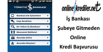 İş Bankası Şubeye Gitmeden Online Kredi Başvurusu Nasıl Yapılır