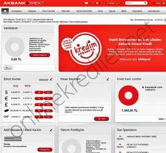 akbank direkt n11 kredisi basvuru ekrani