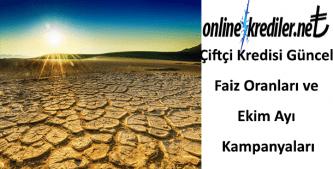 Çiftçi Kredisi Güncel Faiz Oranları ve 2019 Kampanyaları