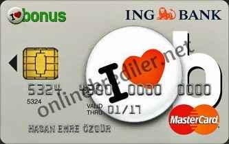 ing bonus kredi karti internetten ve sms ile basvuru yontemleri