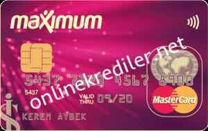 is bankasi maximum kredi karti internet ve sms basvuru yontemleri