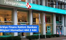 Türkiye Finans Katılım Bankası Müşteri Hizmetleri 444 2 444