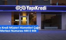 Yapı Kredi Müşteri Hizmetleri Çağrı Merkezi Numarası 444 0 444