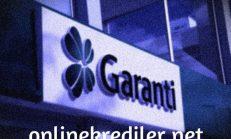 Garanti Bankası Dijital Kredi Başvurusu (Krediyi Hesaba Al)
