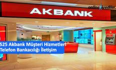4442525 Akbank Müşteri Hizmetleri Telefon Bankacılığı İletişim