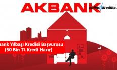 Akbank Yılbaşı Kredisi Başvurusu (Örnek Hesaplama Planı)