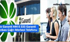 Alo Garanti 444 0 333 Garanti Bankası Çağrı Merkezi Telefonu