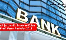 Kredi Şartları En Esnek ve Kolay Kredi Veren Bankalar 2019