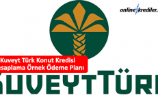 Kuveyt Türk Konut Kredisi Hesaplama 150 Bin TL Ödeme Planı