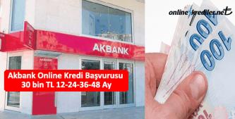 akbank online kredi başvurusu