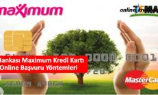 İş Bankası Maximum Kredi Kartı Online Başvuru Yöntemleri