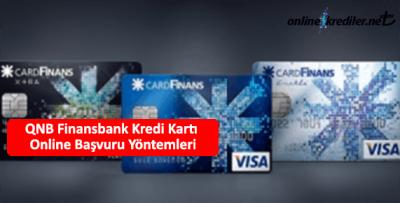 QNB Finansbank Card Finans Kredi Kartı Online Başvuru