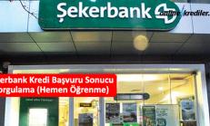 Şekerbank Kredi Başvuru Sonucu Sorgulama (Hemen Öğrenme)