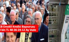 TEB Emekli Kredisi Başvurusu 10 bin TL 36-24-12 Ay Vade