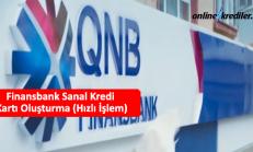 Finansbank Sanal Kredi Kartı Oluşturma (Hızlı İşlem)