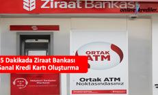 5 Dakikada Ziraat Bankası Sanal Kredi Kartı Oluşturma