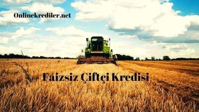 Photo of Ziraat Bankası 2020 Faizsiz Çiftçi Kredisi Şartları