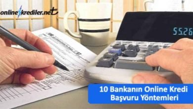 Photo of 10 Bankanın Online Kredi Başvuru Yöntemleri