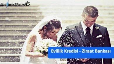 Photo of Evleneceğim Param Yok Diyenlere Ziraat Bankası Evlilik Kredisi