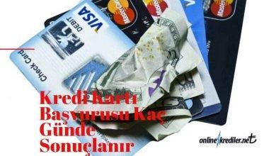 Photo of Kredi Kartı Başvurusu Kaç Günde Sonuçlanır