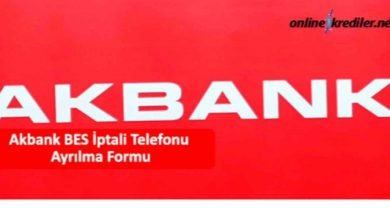 Photo of Akbank BES İptal Ayrılma Formu Telefonu 4441111