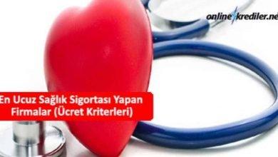 Photo of En Ucuz Sağlık Sigortası Yapan Firmalar (Ücret Kriterleri)