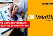 Photo of Şubeye Gitmeden Vakıfbank Kredi Başvurusu (Anında Hesaba)