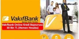 vakifbank online kredi