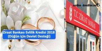 ziraat bankasi evlilik kredisi dugun icin devlet destegi